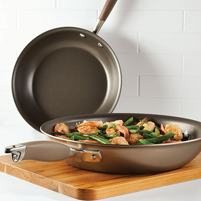 Two Anolon Advanced Home Frying pans